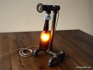 Tischlampe Selber Bauen : 1001 ideen und bilder zum thema flaschenlampe selber bauen ~ Michelbontemps.com Haus und Dekorationen