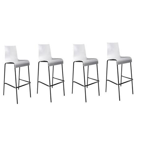 chaise de bar 4 pieds tabouret de bar 4 pieds cdiscount