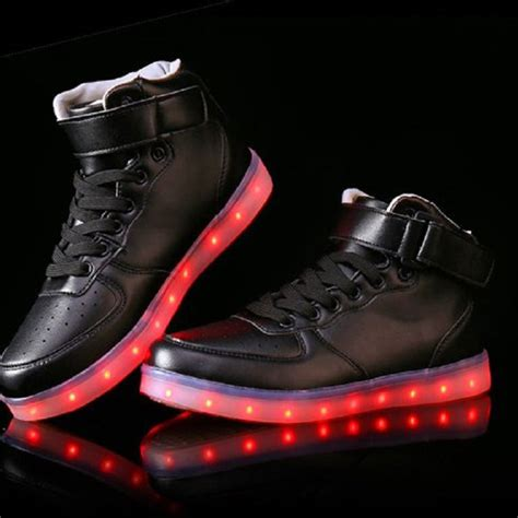 led light up shoes in stores new 7 colors led sneakers light up sneakers for adults led
