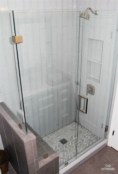 4x16 subway tile bathroom cad interiors affordable stylish interiors