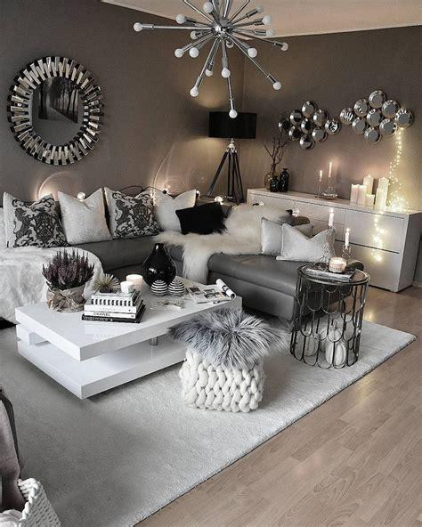 Silber Wohnzimmer by 163 Besten Wz Grau Silber Weiss Bilder Auf