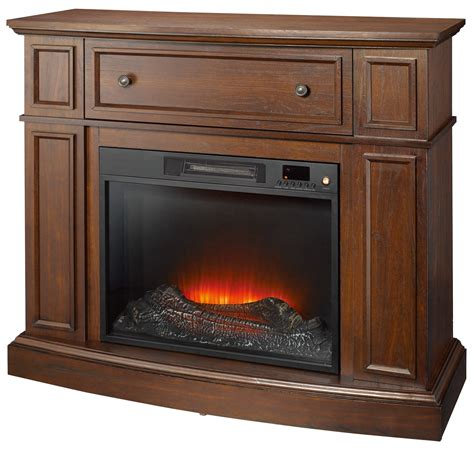 kmart fireplace tv stand essential home shaw electric fireplace cherry