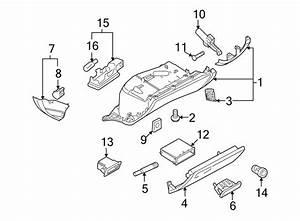 Audi S5 Glove Box  Glove Box Assy