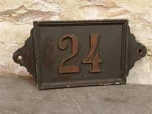 Plaque Numero De Rue : plaque de n de rue num ro 24 ~ Melissatoandfro.com Idées de Décoration