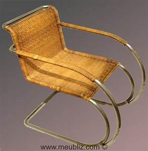 Fauteuil Mies Van Der Rohe : fauteuil mr20 par ludwig mies van der rohe meuble design ~ Melissatoandfro.com Idées de Décoration