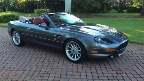 aston martin db7 volante for sale sold 1997 aston martin db7 volante for sale by autohaus