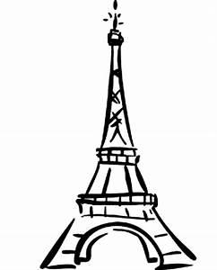 Eiffel Tower Cartoon Clipart - Clipart Suggest