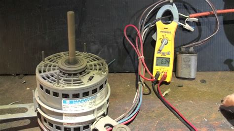 Psc Motor Operation With Without Capacitor Youtube