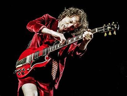 Angus Young Sg Gibson Guitar Dc Rock