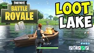 Looting LOOT LAKE for LEGENDARIES!! - Fortnite BATTLE ...