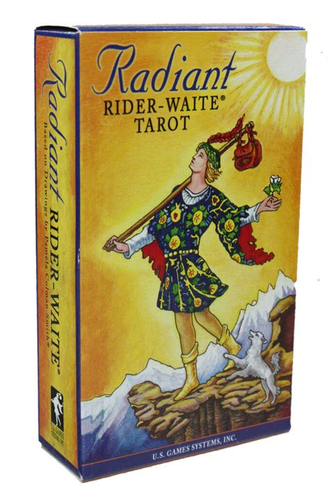 Maybe you would like to learn more about one of these? RADIANT FAMOUS RIDER WAITE TAROT CARDS DECK PAMELA COLMAN SMITH NIB DIVINATION | eBay