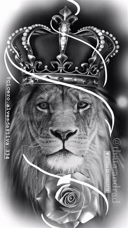 Lion Tattoo Leo Skull Tribal