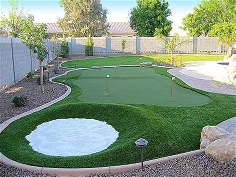 How To Make A Putting Green In Backyard by Putting Green Photos Putters Edge Putting Greens