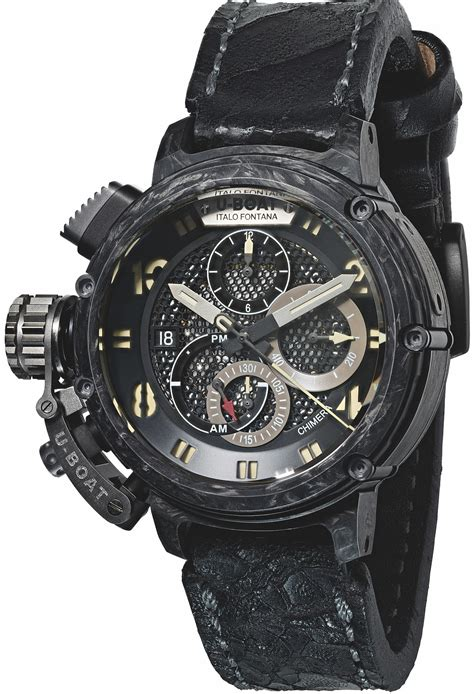 U Boat Watch Chimera 46 Carbonio Limited Edition u boat watches chimera collection watch get luxury from
