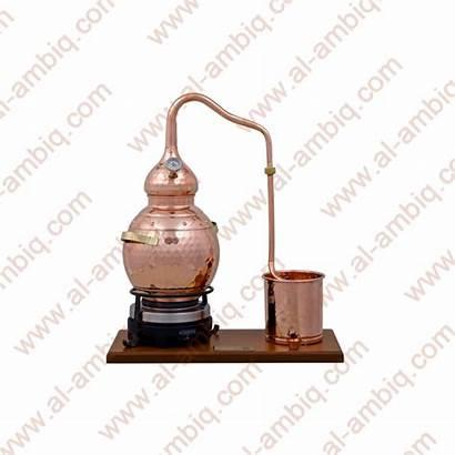 Still Electric Alembic Thermometer Copper Plate Premium