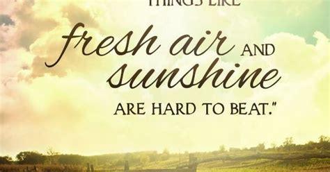 fashioned   fresh air  sunshine