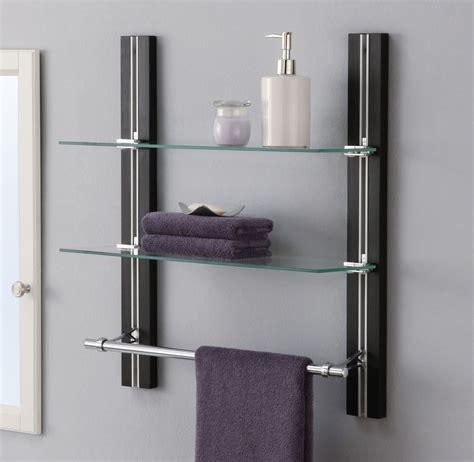 bathroom wall mounted cabinet with towel bar bathroom shelf organizer glass towel rack bar wall mounted
