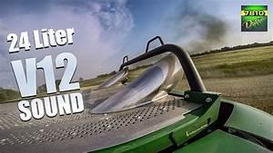 John Deere 9900  V12 Engine  - Pure Exhaust Sound