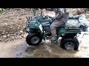 Atv Creek Riding With Recon 250 And Beartracker 250