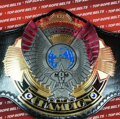 ovw ohio valley wrestling heavyweight title top rope belts
