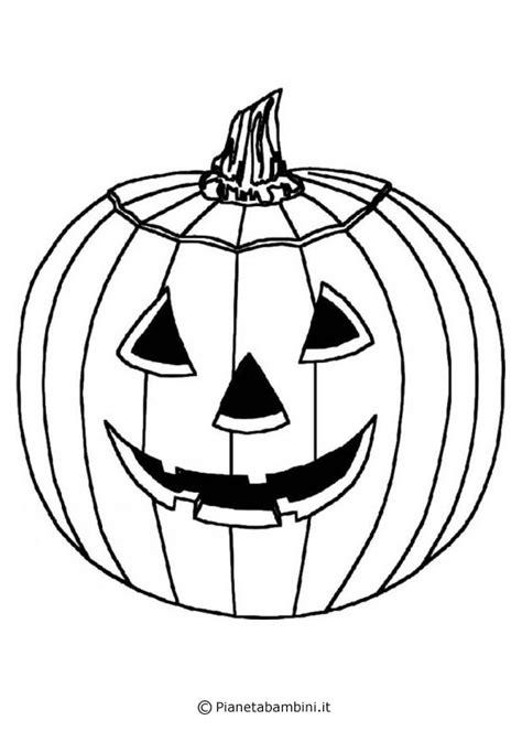 disegni  zucche  halloween da stampare  colorare