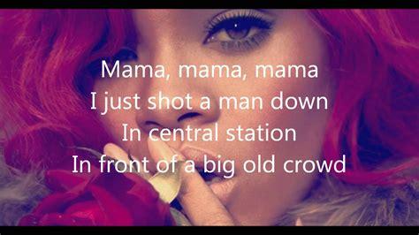 rihanna man  lyrics chords chordify