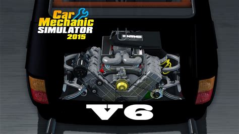 Total Modification by Car Mechanic Simulator 2015 Total Modification Maluch V6