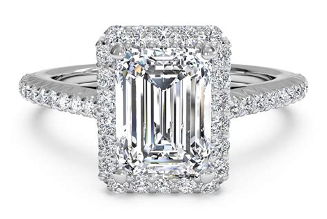 slice engagement ring 4 vintage inspired emerald cut engagement rings ritani