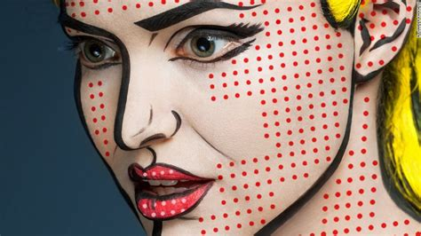 Astonishing '2d' Makeup Transforms