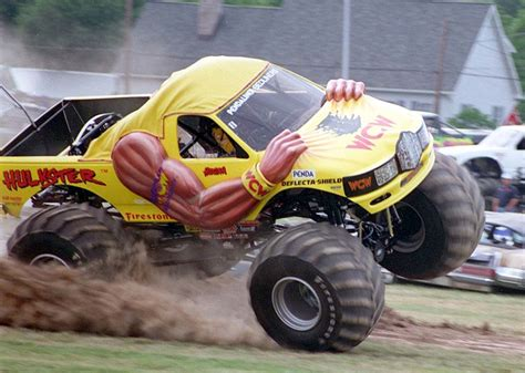 what happened to bigfoot the monster truck where are they now the hulkster and dungeon of doom