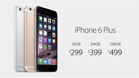 how much does the new iphone 6 and iphone 6 plus cost