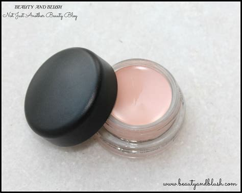 mac pro longwear paint pot in painterly review and swatches and blush