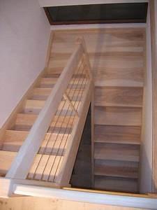 Escalier Bois Quart Tournant : 06 01 escalier deux quart tournant avec palier espace ~ Farleysfitness.com Idées de Décoration