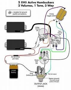 Emg Solderless Wiring Diagram