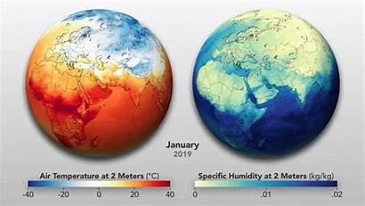 Earth Covid Nasa Humidity Temperature Seasons Rhythms