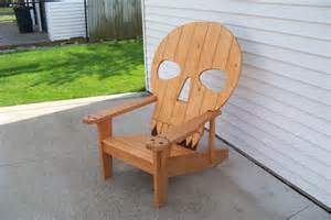 skull chair by mikede lumberjocks com woodworking
