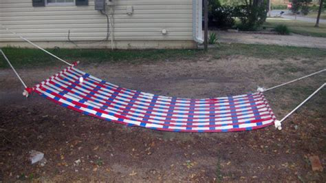 Make Your Own Rope Hammock by Make Your Own Duct Hammock For Cheap Lounging