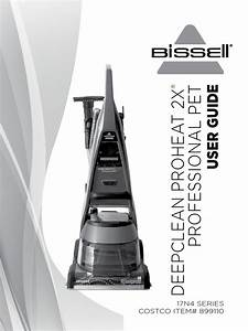Bissell User Guide Deepclean Proheat 2x Professional Pet