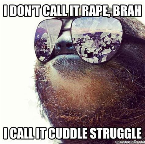Cuddle Meme - cuddle struggle