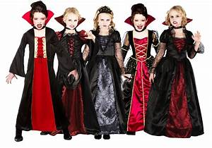 Halloween Costumes for Kids Girls Vampire looks Outfits