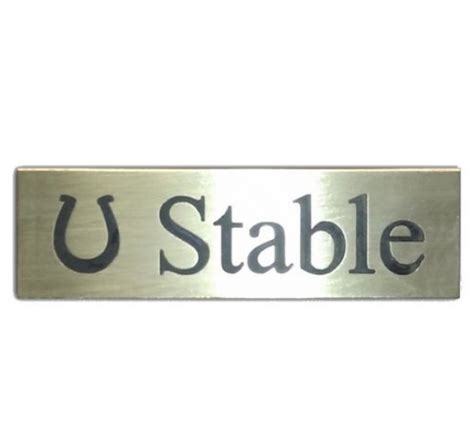 Stable Sign (brass)  Natural Signs. Cosmetology Schools In Oklahoma City. Engineering Universities In New Jersey. Aarp Life Insurance For Seniors. Custom Thermography Printing. Telephone Equipment For Small Business. Santa Ana Beauty College Add Freon To Ac Unit. Cleveland Clinic Pediatric Cardiology. Network Magic Alternative Baytown Tx Hospital