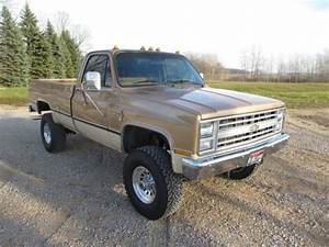 1987 Chevy C  K 3500 Four Speed Manual 4x4 454 For Sale In