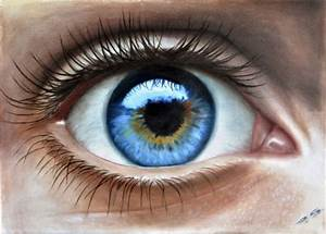 Human Eye  In 3d  Painted By Stefan Pabst      Artist