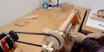 Lathe Wood Tools Build Woodworking Scratch Building