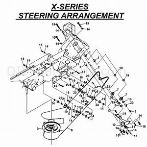 Countax X Series Rider 2010  2010  Parts Diagram  Steering