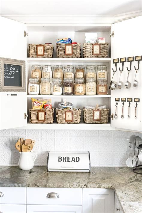 Inexpensive Kitchen Pantry Cabinet by Pantry Cabinet Organization And Printable Labels