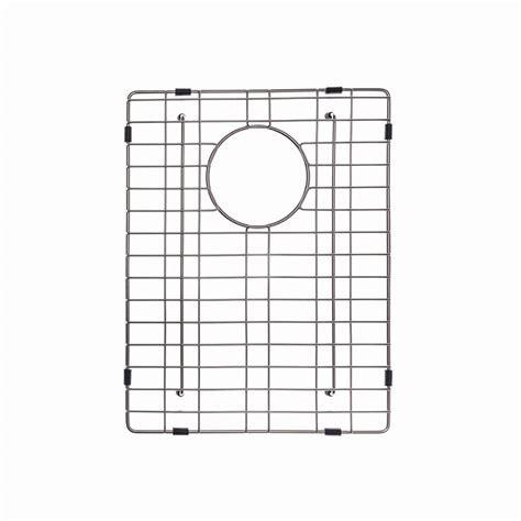 sink grid home depot kraus 13 in x 17 in bottom sink grid in stainless steel