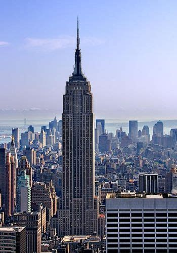 Empire State Building Places In New York New York