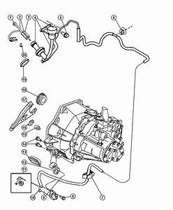 2013 Dodge Dart Actuator  Cylinder  Clutch Slave