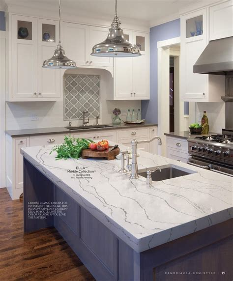 quartz countertops cambria cambria style summer 2015 in 2019 kitchens and dining